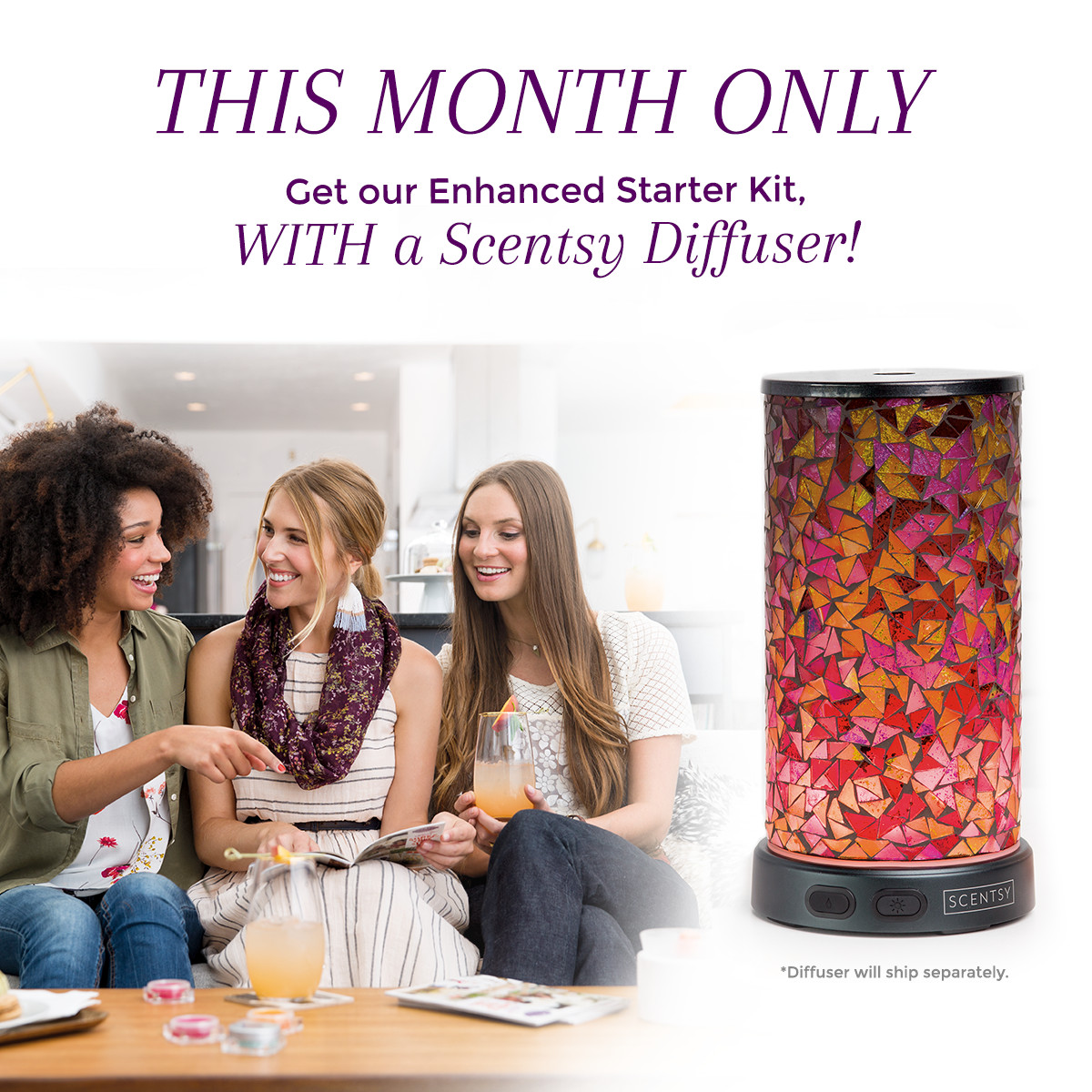 Scentsy August join special